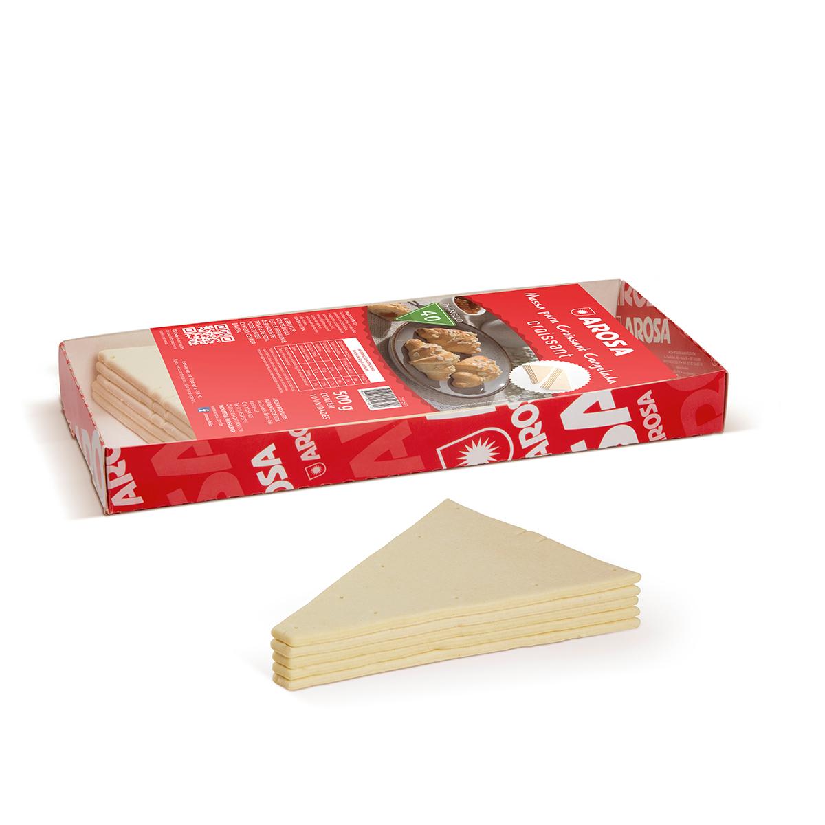 produto -  Massa para Croissant Triângulo Nº 40
