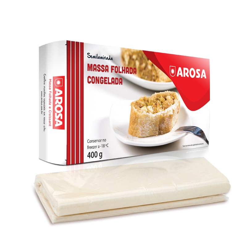 produto - Massa Folhada Congelada 400 g