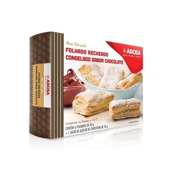 produto - Mini Strudel - Chocolate