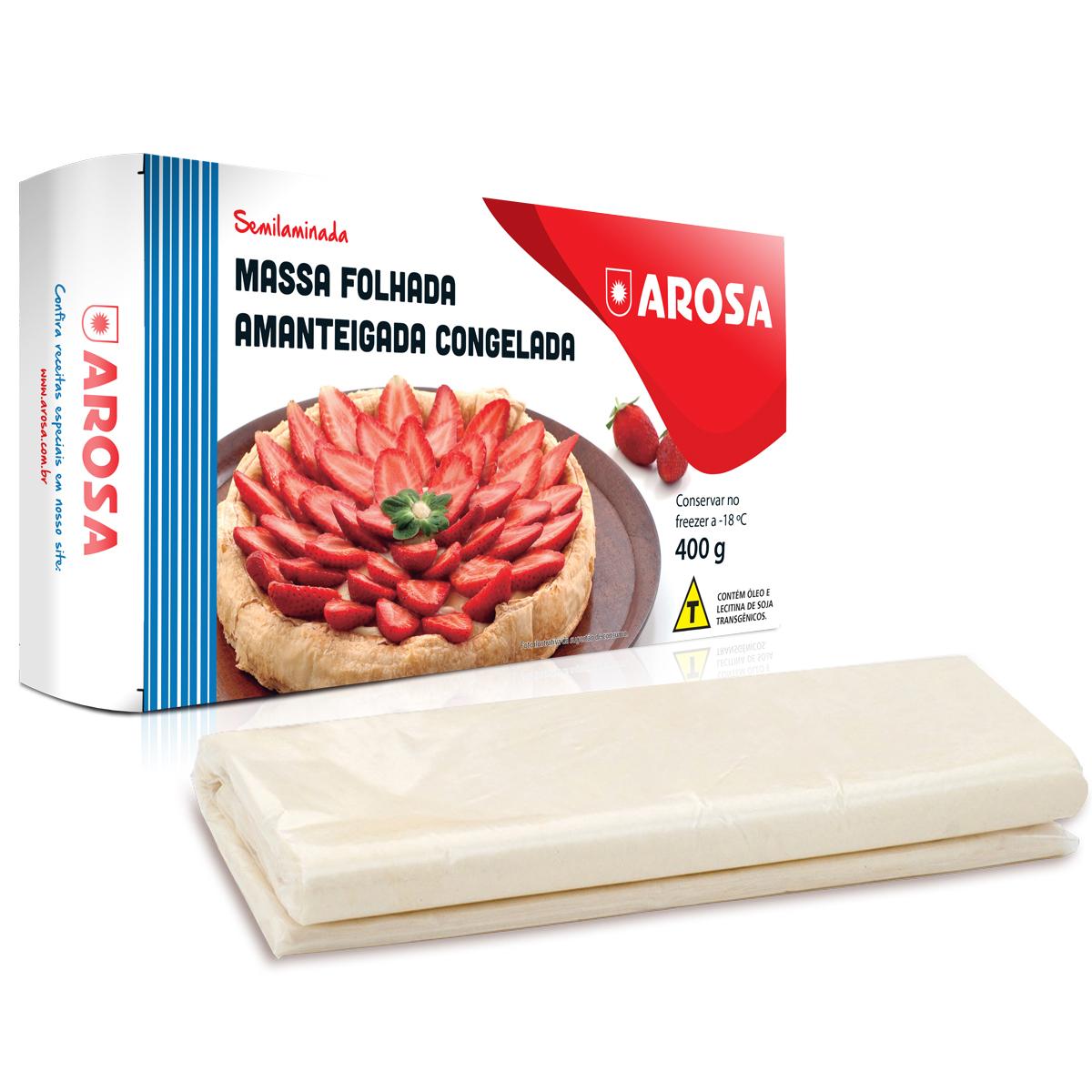 produto - Massa Folhada Amanteigada 400 g