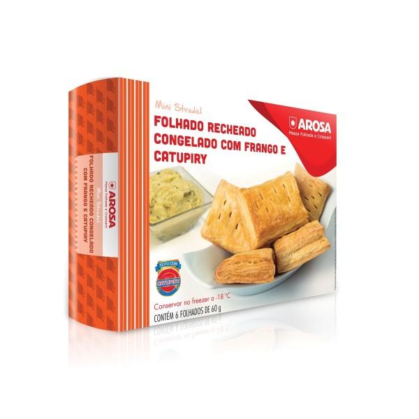 produto - Mini Strudel - Frango e Catupiry