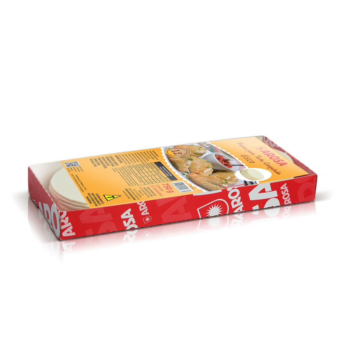 produto - Massa para Torta em Disco - Nº 12