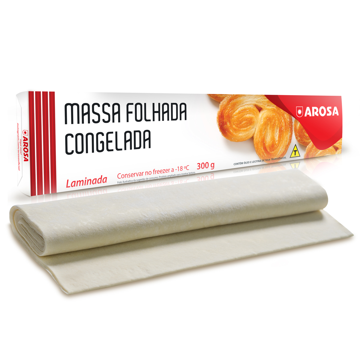 produto - Massa Folhada Laminada 300 g
